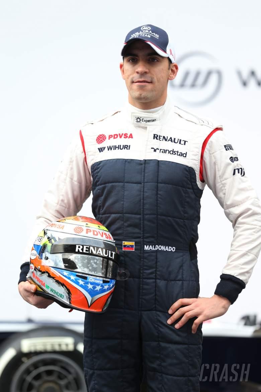 Pastor Maldonado (VEN) Williams.