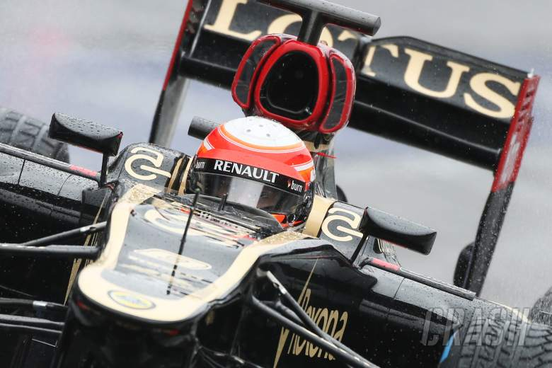 Romain Grosjean (FRA) Lotus F1 E21.01.03.2013.