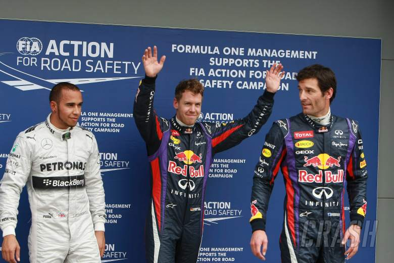 , , 17.03.2013- Qualifying, (L-D) 3rd position Lewis Hamilton (GBR) Mercedes AMG F1 W04, Sebastian Vette