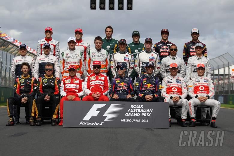 ,  - 17.03.2013- Drivers F1 2013
