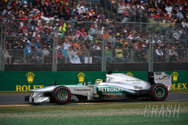 17.03.2013- Race, Nico Rosberg (GER) Mercedes AMG F1 W04