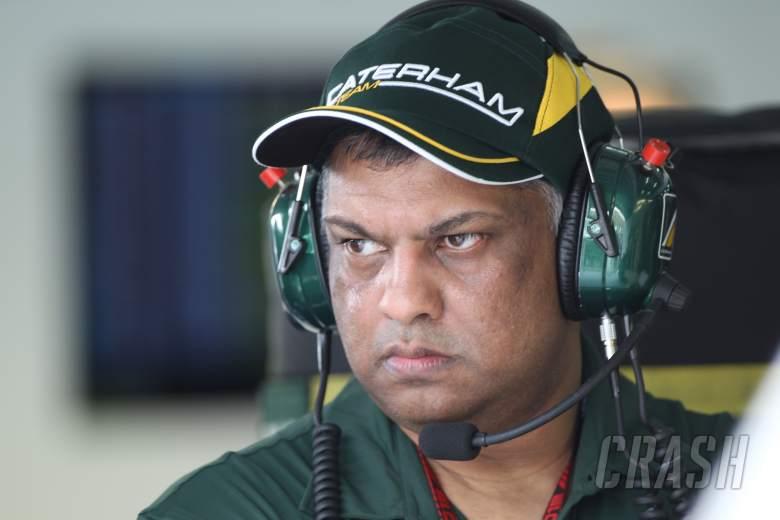 23.03.2013- Qualifying, Tony Fernandes (MAL) Caterham F1 Team