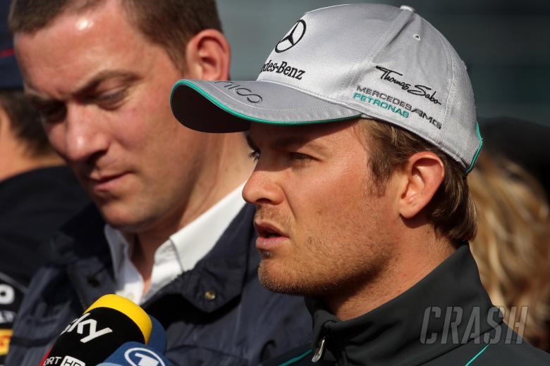 11.04.2013- Nico Rosberg (GER) Mercedes AMG F1 W04