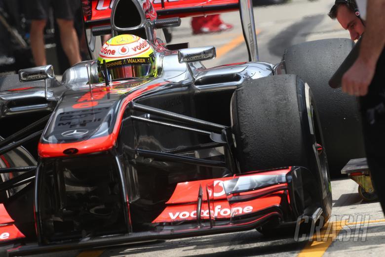 13.04.2013- Free Practice 3, Sergio Perez, McLaren