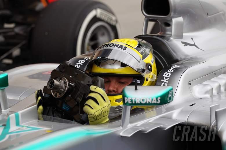 20.04.2012- Qualifying, Nico Rosberg (GER) Mercedes AMG F1 W04 pole position