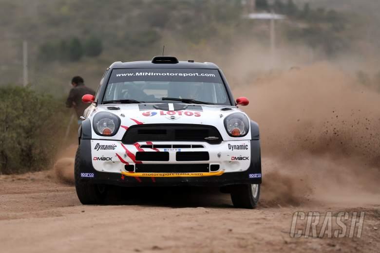 Michal Kosciuszko (PL) Maciek Szczepaniak (PL), Mini John Cooper Works WRC