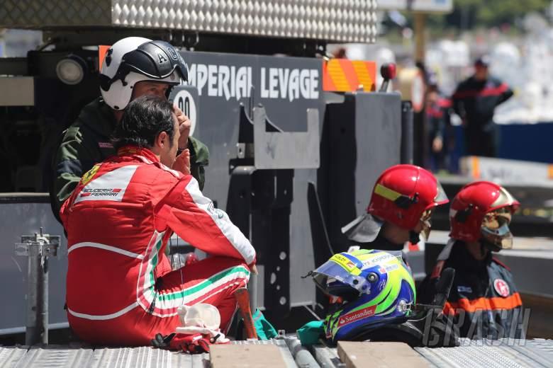 26.05.2013- Race, Crash, Felipe Massa (BRA) Scuderia Ferrari F138