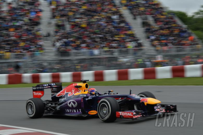 07.06.2013- Free Practice 2, Sebastian Vettel (GER) Red Bull Racing RB9