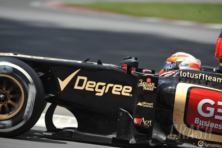 09.06.2013- Race, Romain Grosjean (FRA) Lotus F1 Team E213