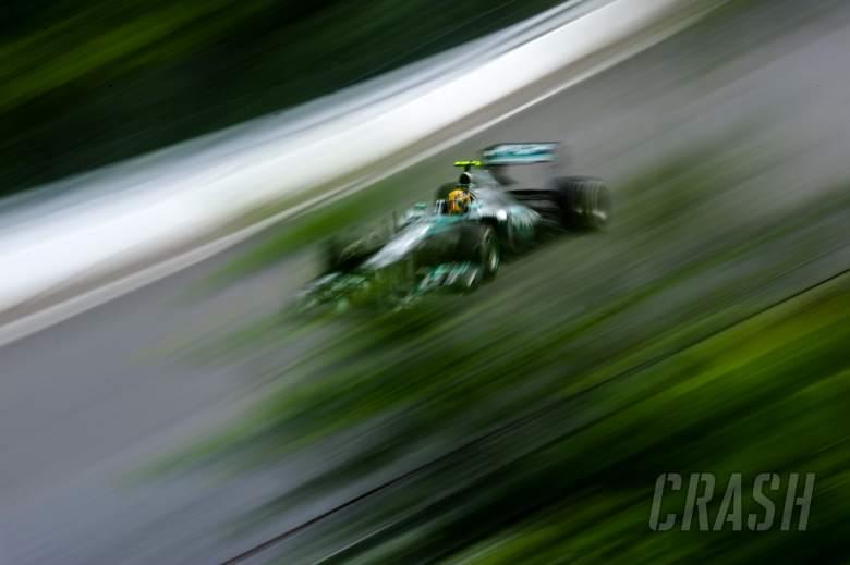 09.06.2013- Race, Lewis Hamilton (GBR) Mercedes AMG F1 W04
