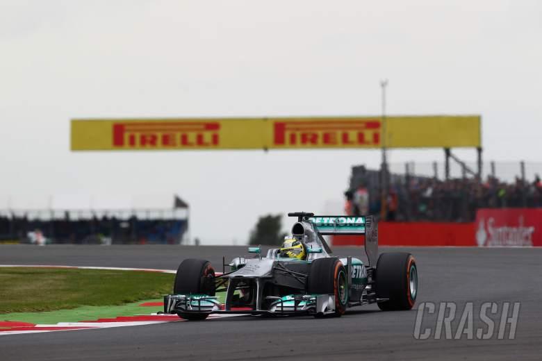 28.06.2013- Free Pratice 2, Nico Rosberg (GER) Mercedes AMG F1 W04