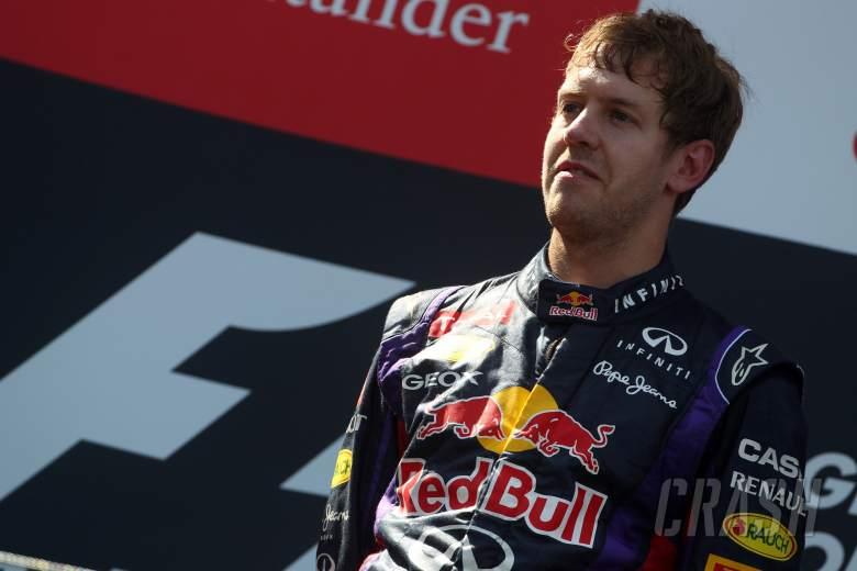 07.07.2013-  Race, Sebastian Vettel (GER) Red Bull Racing RB9 race winner