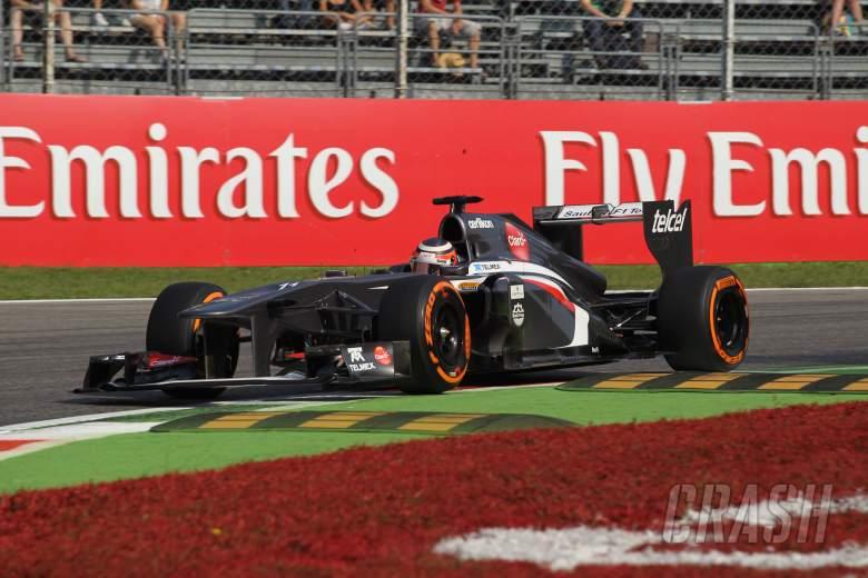 06.09.2013- Free Practice 1, Nico Hulkenberg (GER) Sauber F1 Team C32