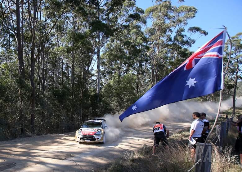 Kris Meeke (GBR) Chrs Patterson (IRL) Citroen DS3 WRC