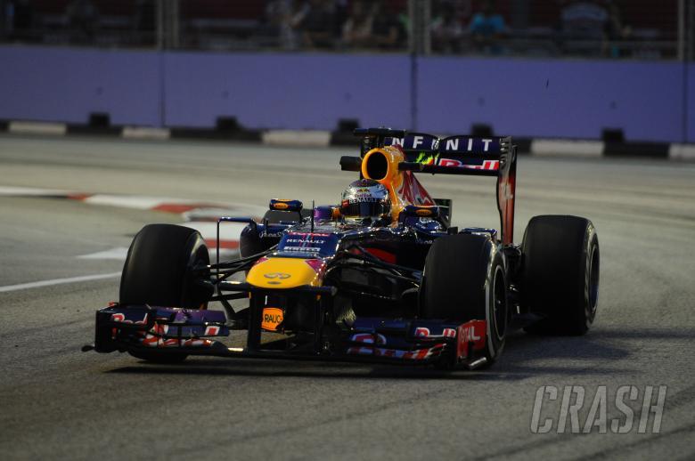 20.09.2013- Free Practice 1: Sebastian Vettel (GER) Red Bull Racing RB9