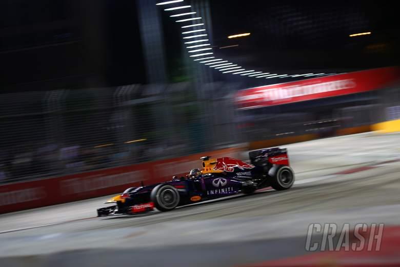 20.09.2013-  Free Practice 1, Sebastian Vettel (GER) Red Bull Racing RB9