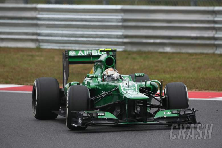 ,  - 06.10.2013- Race, Giedo Van der Garde (NED), Caterham F1 Team CT03