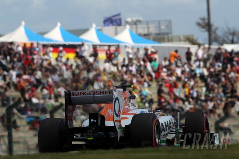 ,  - 11.10.2013- Free Practice 1, Adrian Sutil (GER), Sahara Force India F1 Team VJM06