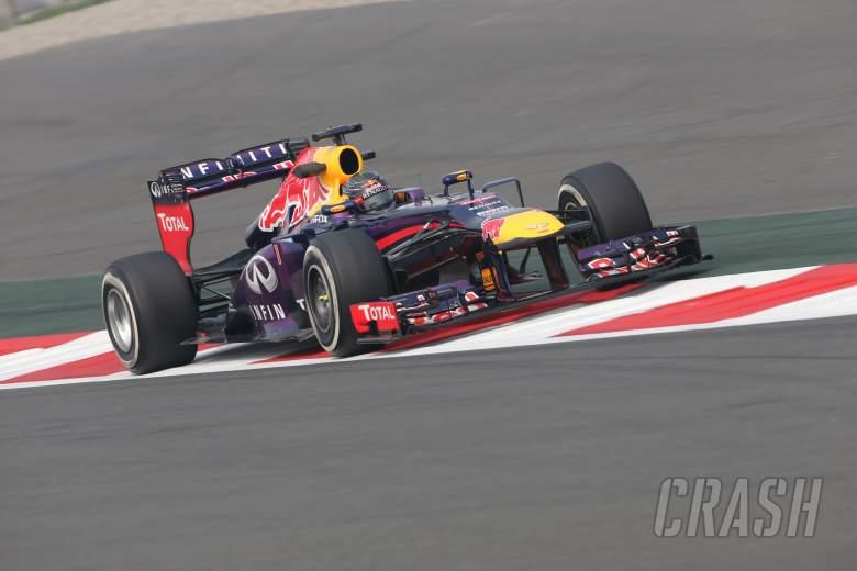 25.10.2013- Free Practice 1: Sebastian Vettel (GER) Red Bull Racing RB9