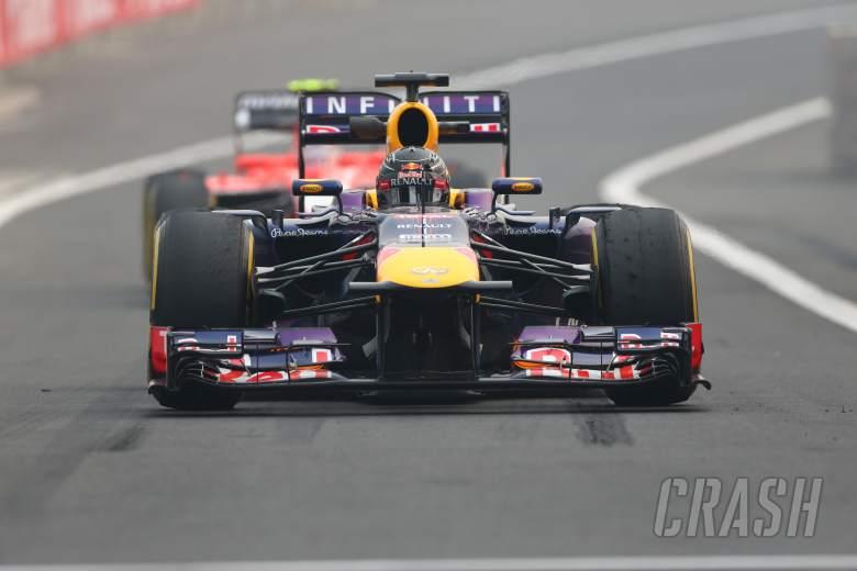 25.10.2013- Free Practice 2: Sebastian Vettel (GER) Red Bull Racing RB9