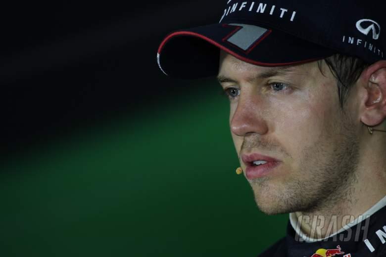 03.11.2013- After Race Press Conference, Sebastian Vettel (GER) Red Bull Racing RB9