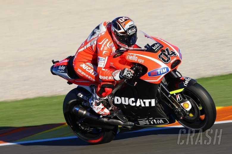 Dovizioso, Valencia MotoGP test, November 2013