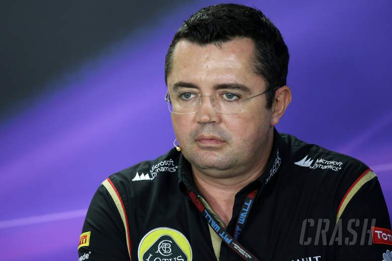 22.11.2013- Press conference, Eric Boullier (FRA), Team Manager, Lotus F1 Team
