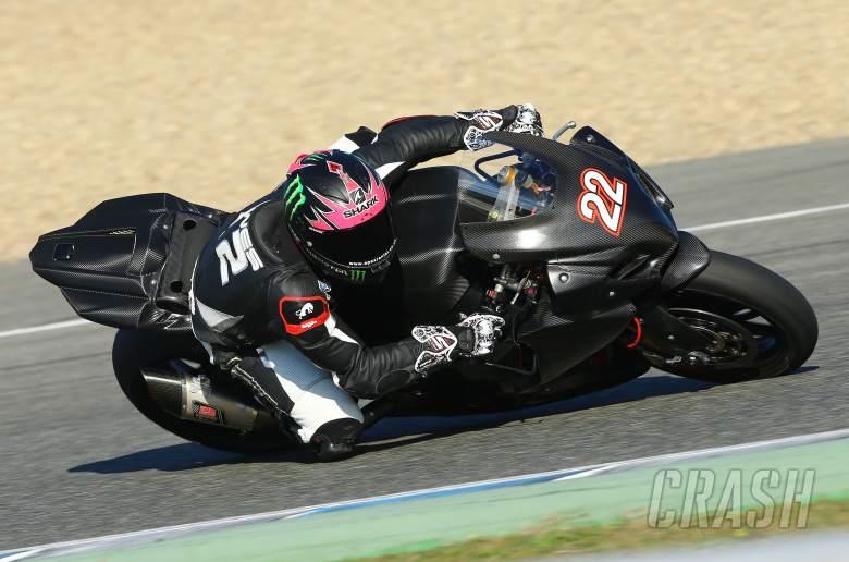 Alex Lowes, Jerez WSBK test, November 2013