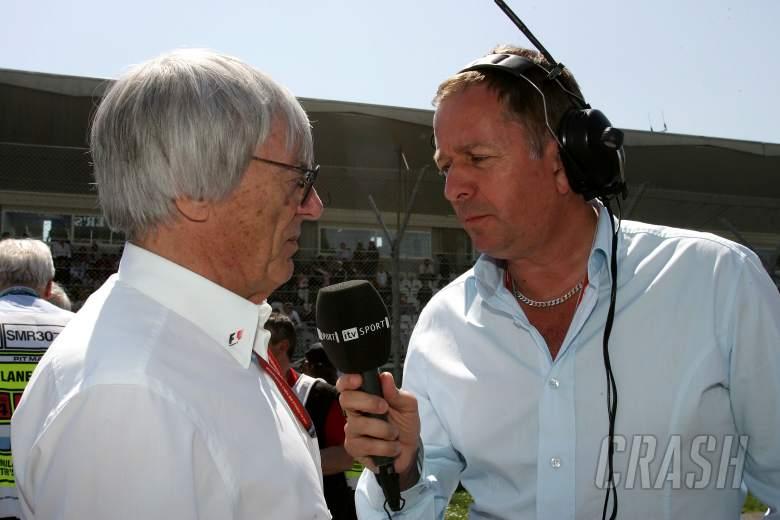 Martin Brundle interviews Bernie Ecclestone