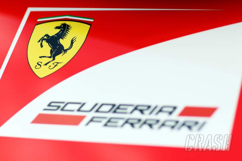 Ferrari logo.29.01.2014. Formula One Testing, Day Two, Jerez, Spain.
