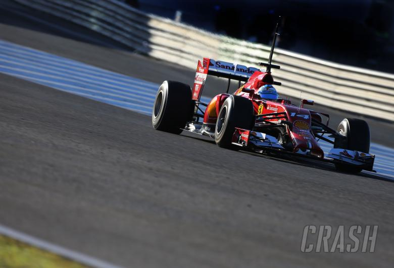 ,  - Fernando Alonso (ESP), Scuderia Ferrari 30.01.2014. Formula One Testing, Day Three, Jerez, Spain.