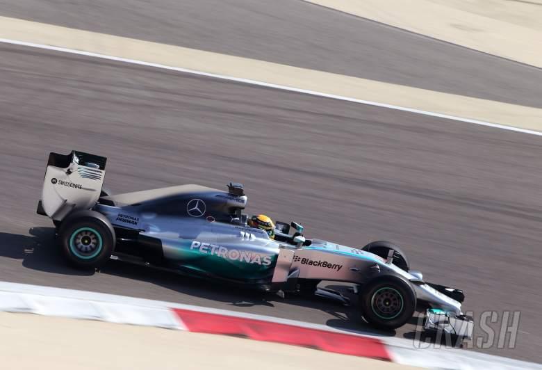 Lewis Hamilton (GBR), Mercedes AMG F1 Team 19.02.2014. Formula One Testing, Bahrain Test One, Day O