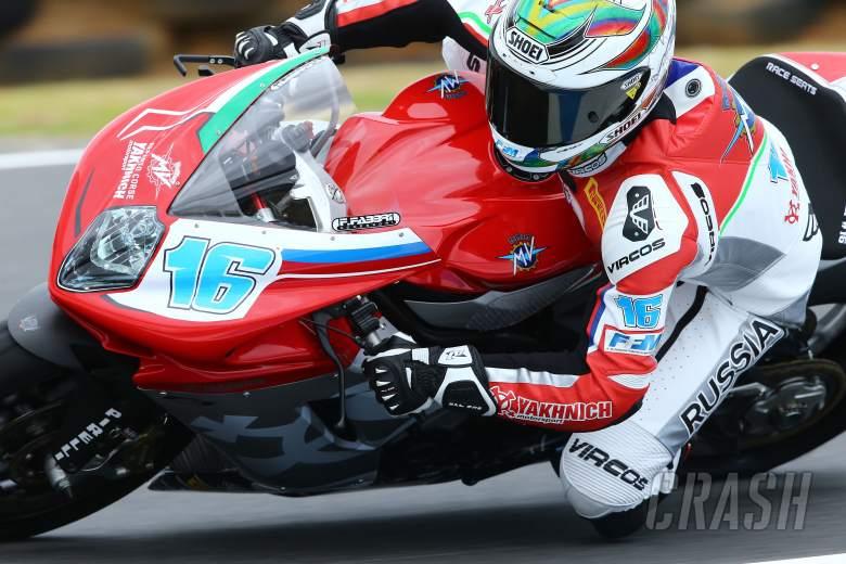 Cluzel, WSS, Australian WSBK test and race, 2014