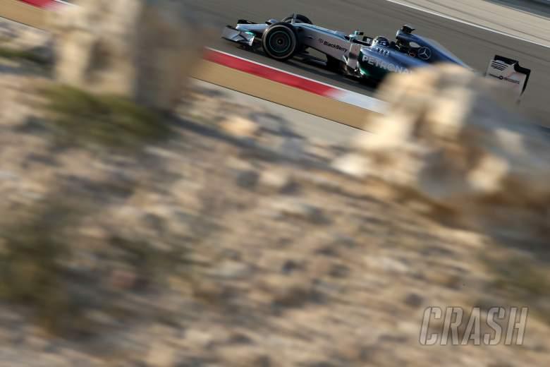 Nico Rosberg (GER), Mercedes AMG F1 Team 20.02.2014. Formula One Testing, Bahrain Test One, Day Two