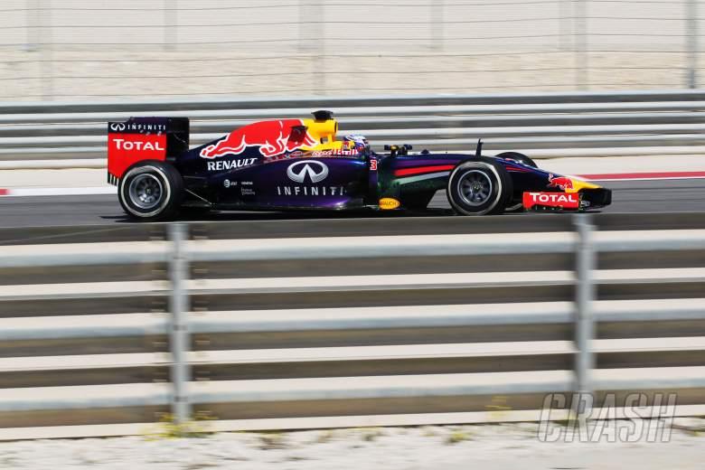 ,  - Daniel Ricciardo (AUS) Red Bull Racing RB10.21.02.2014. Formula One Testing, Bahrain Test One, Day