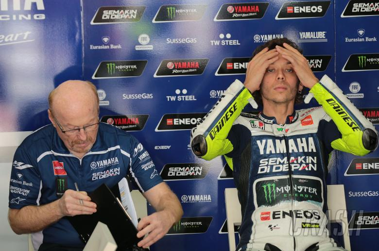 Galbusera and Rossi, Sepang MotoGP test, 26-28 February 2014