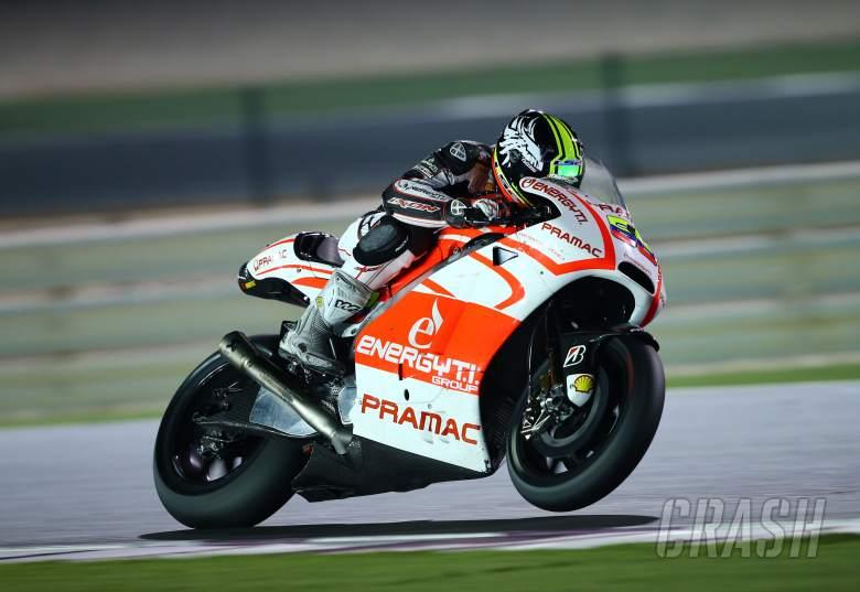 Hernandez, Qatar MotoGP test, March 2014