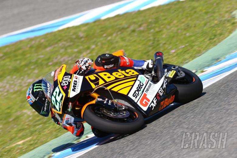 Sam Lowes, Moto2, Jerez test Feb 2014