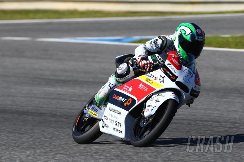 Vazquez, Moto3, Jerez test Feb 2014