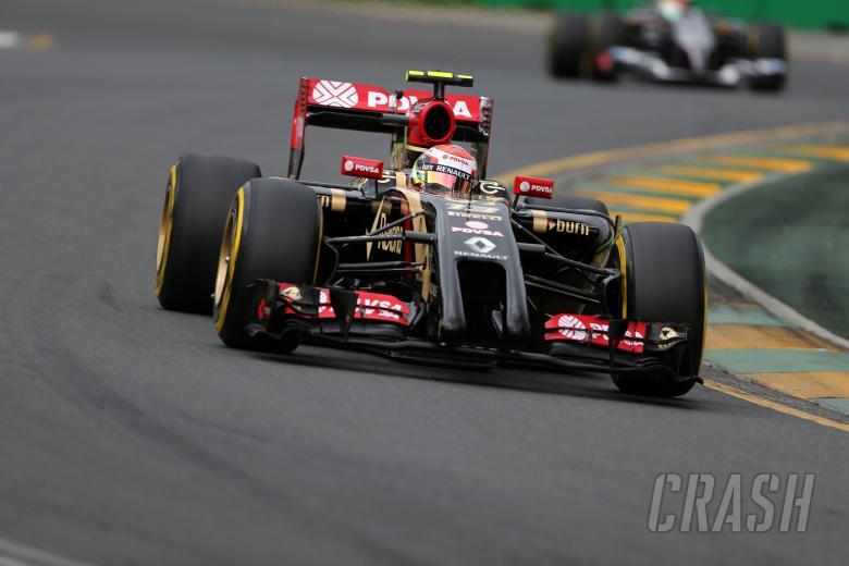 15.03.2014- Qualifying, Pastor Maldonado (VEN) Lotus F1 Team E22
