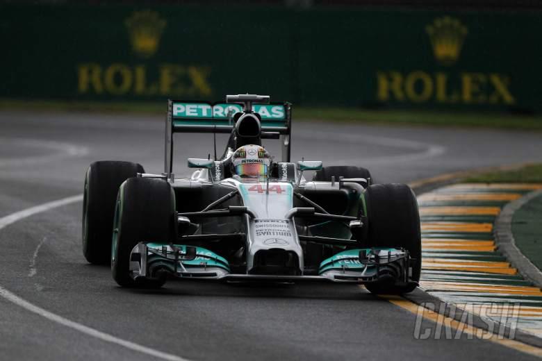 15.03.2014- Qualifying, Lewis Hamilton (GBR) Mercedes AMG F1 W05