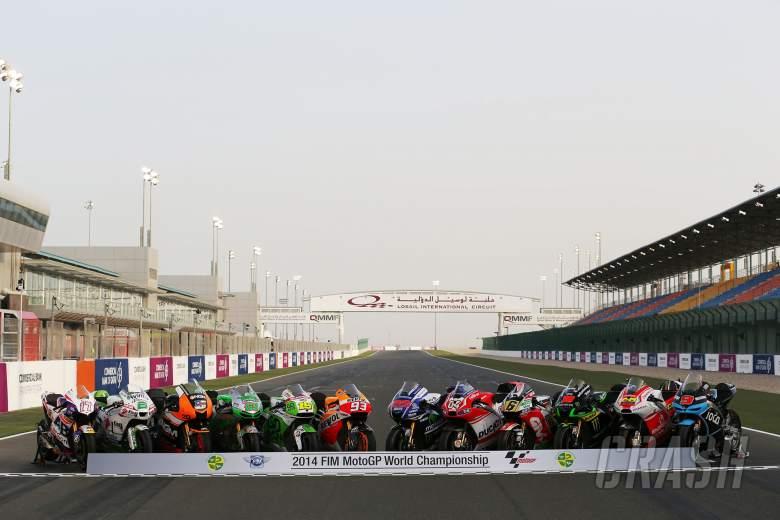 MotoGP bike line-up, Qatar MotoGP 2014