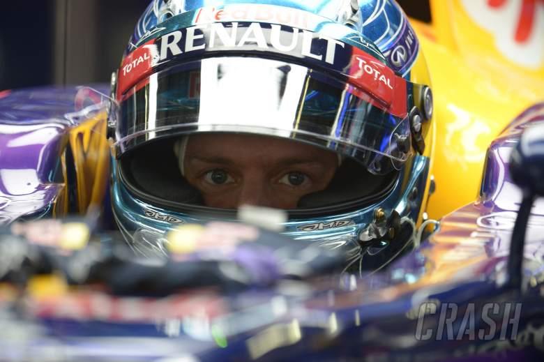 18.04.2014- Free Practice 1, Sebastian Vettel (GER) Infiniti Red Bull Racing RB10