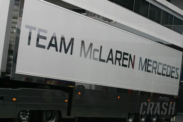 Team McLaren-Mercedes logo