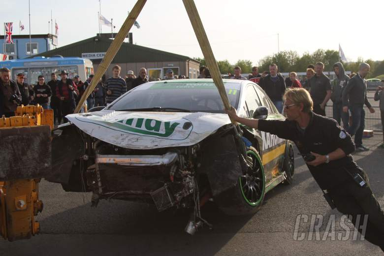 Simon Belcher (GBR) Handy Motorsport Toyota Avensis