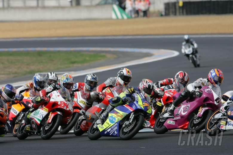 , , Start, French 125GP Race 2006