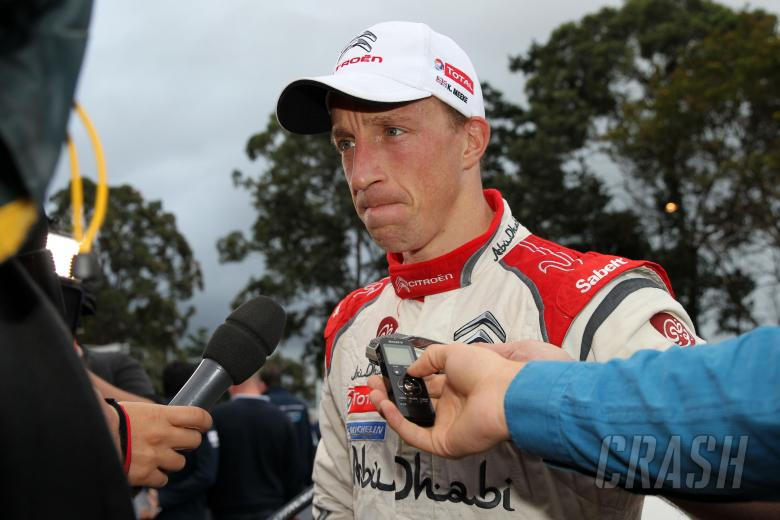 Meeke retires after double puncture