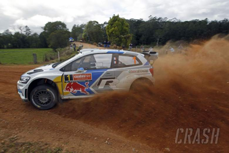 Rally Australia: Event timetable