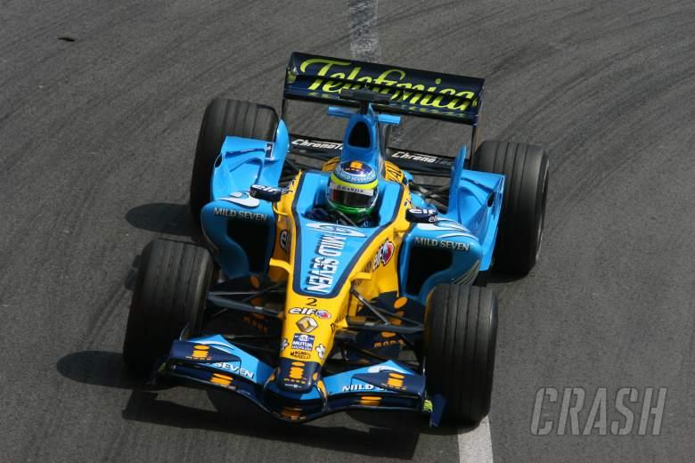 25.05.2006 Monte Carlo, Monaco, Giancarlo Fisichella (ITA), Renault F1 Team - Formula 1 World Champi