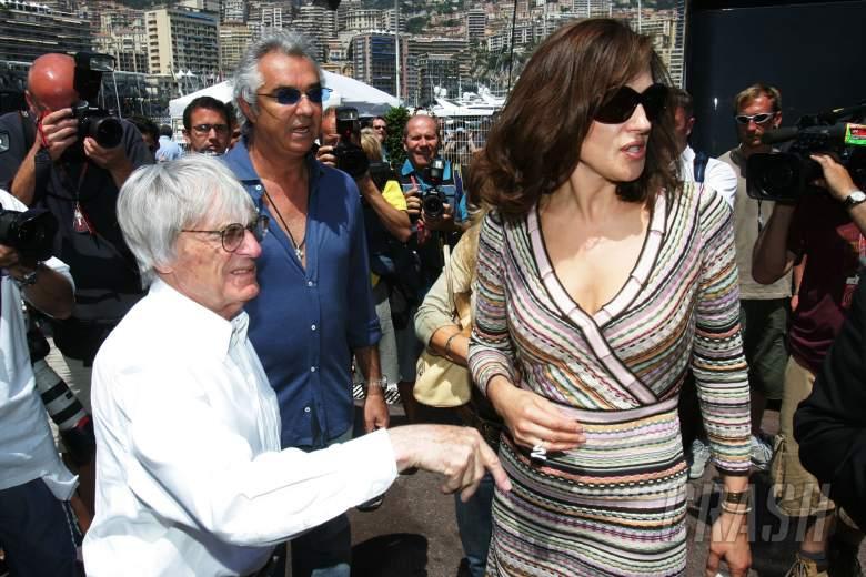26.05.2006 Monte Carlo, Monaco, . Bernie Ecclestone (GBR), Flavio Briatore (ITA), Renault F1 Team, T